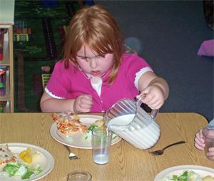 Food 5- self-help-milk