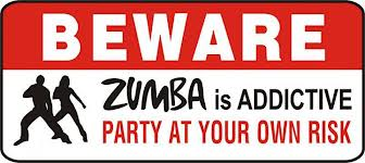 Beware- zumba is addictive