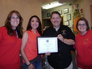 COA Award pic
