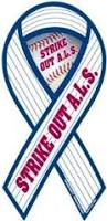 Strike Out ALS Baseball Ribbon